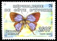 W.A.S. Calalog : Butterflies (1459) - 2005 - Ivory Cost -  Faunes & Flores