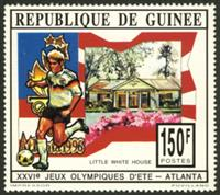 W.A.S. Calalog : Olympic Games Atlanta 96 - 1993 - Guinée -  Jeux Olympiques, Sport
