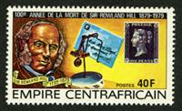 W.A.S. Calalog : Anniversary of Rowland hill 1978 - 1978 - Republic of Central Africa -  Personnages célèbres