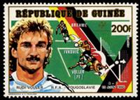W.A.S. Calalog : Soccer worldcup 90 / the winners - 1990 - Guinea -  Football / Soccer