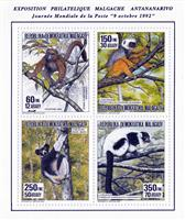 W.A.S. Calalog : National Stamp Exhibition Antananarivo  92  - 1992 - Madagascar -