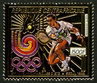 W.A.S. Calalog : Olympic Summer Games of Seoul 1988 GOLD - 1988 - Republic of Central Africa -  Sport, Jeux Olympiques