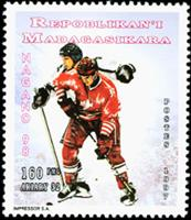 W.A.S. Calalog : Olympic Games Nagano 1998 - 1997 - Madagascar -  Jeux Olympiques, Sport