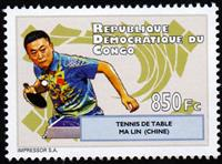 W.A.S. Calalog : Table Tennis 2012 - 2012 - Democratic Republic of Congo -  Sport, Jeux Olympiques