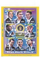 W.A.S. Calalog : President Barack Hussein Obama II - 2009 - Democratic Republic of Congo -