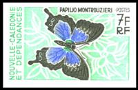 W.A.S. Calalog : Butterflies - 1967 - New Caledonia -  Faunes & Flores