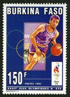 W.A.S. Calalog : Olympic summer games Atlanta 1996 - 1996 - Burkina Faso -  Jeux Olympiques, Sport