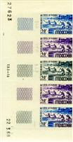 W.A.S. Calalog : Mexico Olympic Games 1968 -Color proof - 1968 - Ivory Cost -  Jeux Olympiques