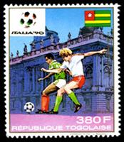 WAS Calalog - Football World Cup Italy 1990 - football/soccer - 1989