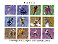 W.A.S. Calalog : Olympic Games Nagano 1998 (740) - 1996 - Zaïre -  Jeux Olympiques, Sport