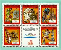 WAS Calalog - Olympic Summer Games of Barcelona 1992  -1987 - 1 - 1987