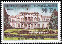 W.A.S. Calalog : Birthday of Federal Republic of Germany   1989 - 1989 - Togo -  Evénements historiqu