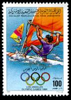W.A.S. Calalog : Olympic Games Los Angeles 1984 II - 1984-1985 - Libye -  Jeux Olympiques, Sport