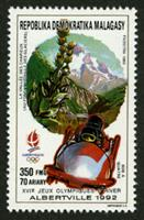 W.A.S. Calalog : Olympic Games Albertville 1992 (4969) - 1990 - Madagascar -  Jeux Olympiques, Sport