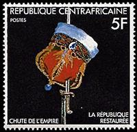 W.A.S. Calalog : Fall of the monarchy restoration of the republic  1981 - 1981 - République de centrafrique -  Evénements historiqu