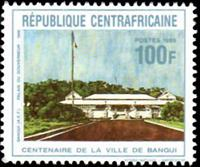 W.A.S. Flash sale of - 30 years of city Bangui  1989 -   : 1405-A1407 -  - 1989