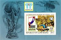 W.A.S. Calalog : Football world championship, Argentina : Placement of final participants – SILVER  1978 - 1978 - Guinea Bissau -  Sport