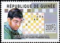 W.A.S. Calalog : Chess Player 2002 (Anand-Kramnik) 2002 - 2002 - Guinée -  Jeux d