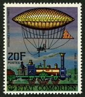 W.A.S. Calalog : Airships - 1977 - Comores -  Transports