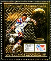 W.A.S. Calalog : Football Worldcup 94 / Gold - 1992 - Madagascar -  Football / Soccer