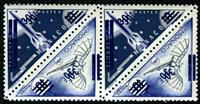 WAS Calalog - Rocket and plane - double overprint - 1 - 1956