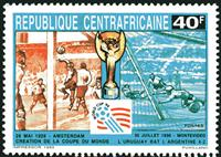 W.A.S. Calalog : Football world cup USA 94 - 1993 - République de centrafrique -  Football / Soccer