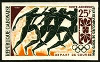 W.A.S. Calalog : Olympic Games Tokyo 1968 - 1964 - Gabon -  Jeux Olympiques