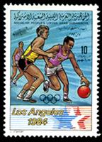 W.A.S. Calalog : Olympic Games Los Angeles 1984 - 1984-1985 - Libye -  Jeux Olympiques, Sport