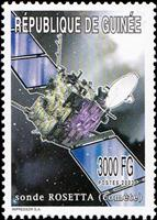W.A.S. Calalog : Space exploration with Probes and Vehicles without Pilot  2003 - 2003 - Guinée -  Espace, Transports