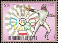 W.A.S. Calalog : Gold Medalist at Munich Olympics IV 1972 - 1972 - Tchad -  Jeux Olympiques, Sport