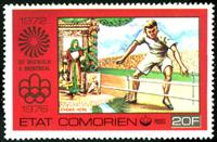 W.A.S. Calalog : Olympics Games of Munich 1972 - Montreal 1976 - 1977 - Comores -  Jeux Olympiques, Sport