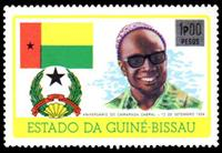W.A.S. Calalog : Silver and black  1976 - 1976 - Guinea Bissau -