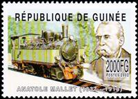 W.A.S. Calalog : History of the French Railway Industry (Mallet-Chambron) 2002 - 2002 - Guinea -  Transports