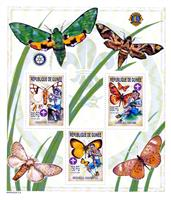 W.A.S. Calalog : Boy Scout and Butterflies 2002 - 2002 - Guinea -  Faunes & Flores, Scoutisme