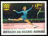 W.A.S. Calalog : Winter Olympics games of Innsbruck 1976  - 1976 - Guinée Bissau -