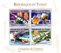 W.A.S. Calalog : Space travel 2013 - 2013 - Chad -  Espace