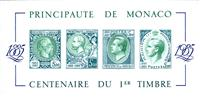W.A.S. Calalog : Centenary of the first Stamp 1885-1985/ Green - 1985 - Monaco -  Evénements historiqu