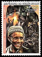 W.A.S. Calalog : Anniversary of Amilcar Cabral 1976 - 1976 - Guinea Bissau -  Personnages célèbres