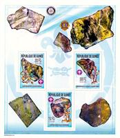 W.A.S. Calalog : boy scout and Meteorites - 2002 - Guinea -  Espace, Scoutisme