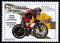W.A.S. Calalog : Cycling 2012 - 2012 - Democratic Republic of Congo -  Sport