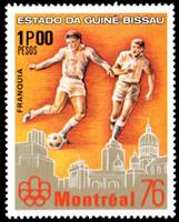 W.A.S. Calalog : Summer Olympics games in Montreal  1976 - 1976 - Guinée Bissau -  Jeux Olympiques, Sport