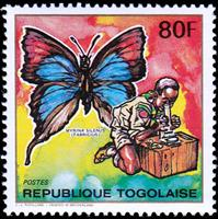 W.A.S. Calalog : Pathfinder Naming Butterflies and Mushrooms 1990 - 1990 - Togo -  Scoutisme, Faunes & Flores