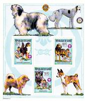 W.A.S. Calalog : Boy Scout and Dogs 2002 - 2002 - Guinea -  Animaux, Scoutisme