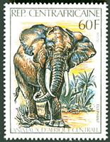 W.A.S. Calalog : Central Africa Animals  - 1980 - Republic of Central Africa -  Faunes & Flores, Animaux