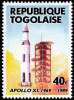 W.A.S. Calalog : Birthday of the first man on the moon  1989 - 1989 - Togo -